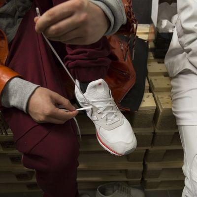 Report del lancio della New Balance 574 Sport a Milano
