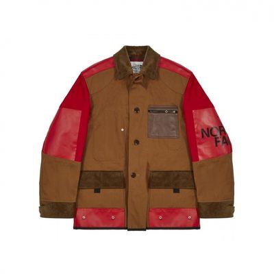 Junya Watanabe MAN x The North Face giacche fatte di borsa
