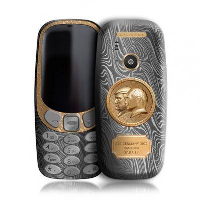 Nokia 3310 Putin-Trump gold edition da 2k e mezzo