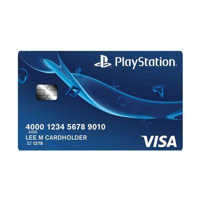 Carta di credito PlayStation