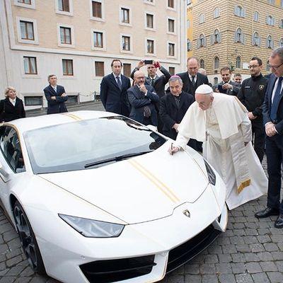 La Lamborghini di Papa Francesco