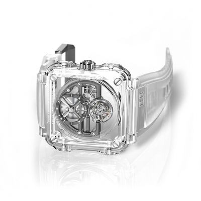 Bell & Ross BR-X1 Skeleton Tourbillon tutto trasparente da 385k