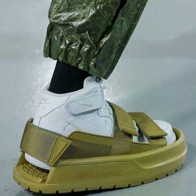 Ciabatta per persone con già indosso una scarpa