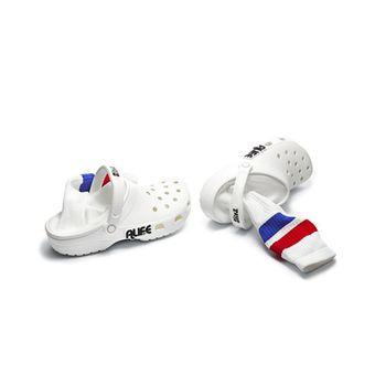 Crocs di Alife con calzini incorporati