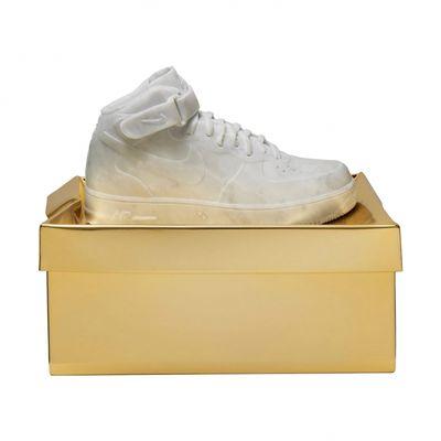 Air Force 1 di marmo con scatola d'oro