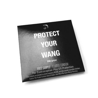 Preservativo moda