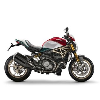 Ducati Monster tricolore per il venticinquesimo anniversario