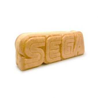 Logo SEGA commestibile
