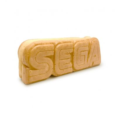 Logo SEGA commestibile