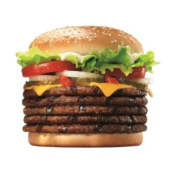 Whopper con 5 hamburger