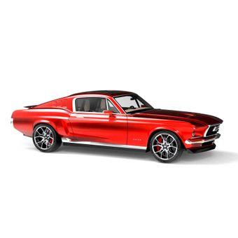 Mustang elettrica russa