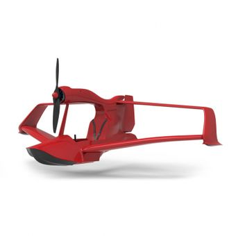 Mini aereo design per volare sull'acqua