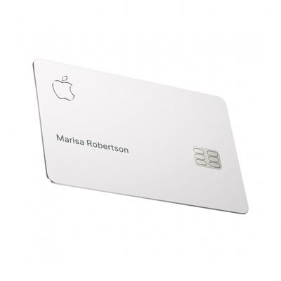 Carta per fare debito Apple