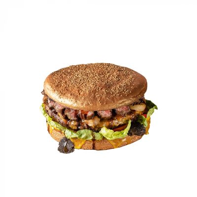 Hamburger gigante da 3 kg e quasi 1 k